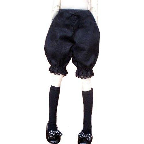 [Wamami] 10# черные короткие штаны/одежда 1/4 MSD DOD BJD Dollfie