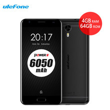 "Ulefone Power 2 Smartphone 5,5 ""FHD 4 GB RAM 64 GB ROM Dual Sim 16MP Android 7.0 Octa-core Touch ID 6050 mAh 4G Setzte handys"