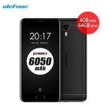 Ulefone Power 2 Smartphone 6050mAh 4GB RAM+64GB 5.5″FHD MTK6750T Octa Core Android 7.0 16MP GPS Fingerprint 4G Mobile Cell Phone