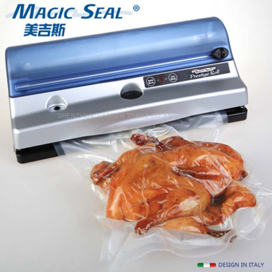 food vacuum sealer machine  bag seal machineVacuum Packing Machine for food Vacuum Sealer Machine household vacuum packaging sealing machine sealer wet and dry use 30cm 110w 220v
