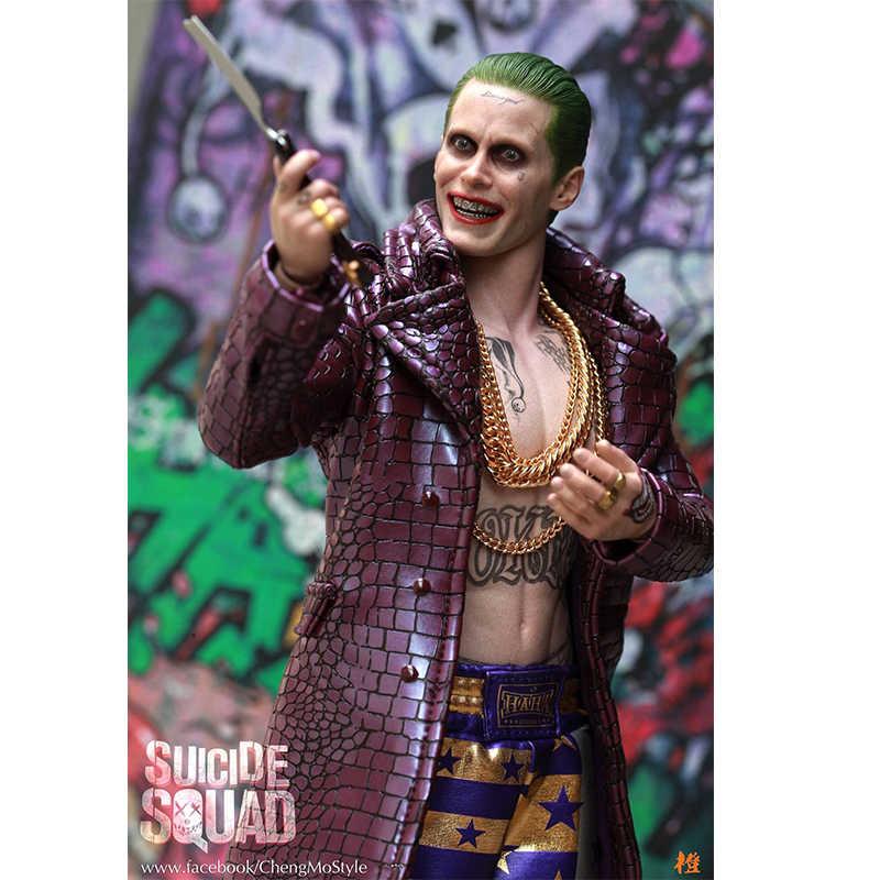 "Suicide Squad The Joker Arkham Asylum 1//6 Scale Crazy Toys 12/"" Figure 30"