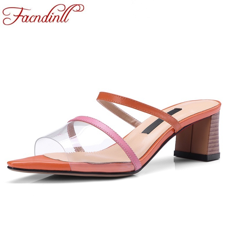 FACNDINLL fashion genuine leather summer shoes woman 2018 new peep toe high heels sexy women office lady dress party sandals genuine leather crystal open the toe thick high heels women sandals 2016 new fashion sexy peep toe lady summer sandal shoes