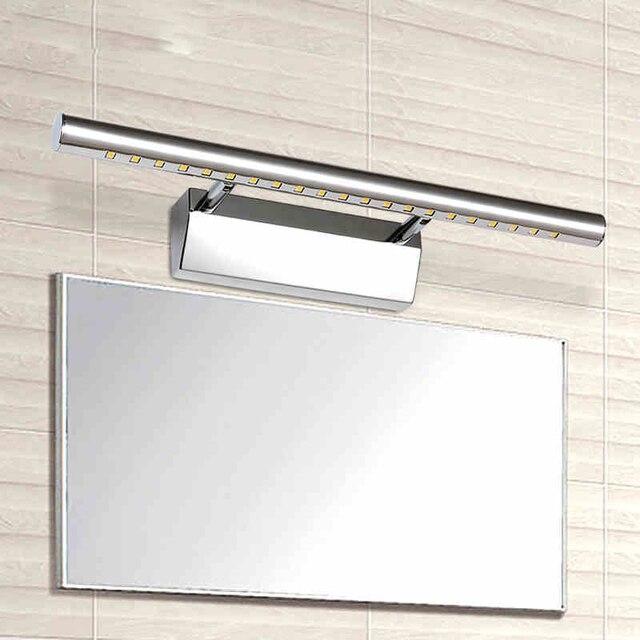 7 W Led Miroir Lumière Rotatif Support De Lampe Salle De Bains Miroir Mur  Lampe SMD5050