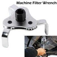 Auto Oil Filter Wrench Car Repair Tools Adjustable Two Way Oil Filter Wrench 3 Jaw Remover Tool For Cars Trucks 53-108mm