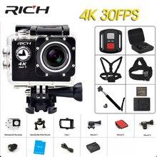 RICH 4K Action Camera WIFI HD With Waterproof case 2.0″ LCD  Wifi International Version Sports Camera helmet outdoor camera