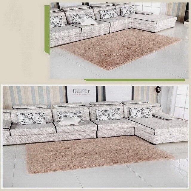 Crème couleur Beige super doux carpet salon/chambre Antidérapant ...