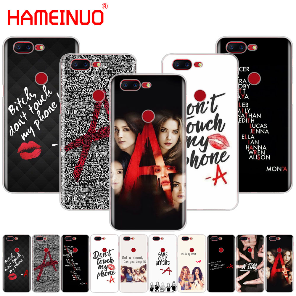 HAMEINUO Pretty Little Liars PLL on sale cover phone case for Oneplus one plus 5T 5 3 3t 2 X A3000 A5000