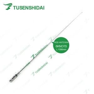 Image 5 - Vente chaude VHF 136 174 Mhz BNC longue antenne télescopique TXS Q9ZT