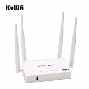 Image 1 - Rete domestica senza fili del Router del segnale di wifi precaricato openWRT del Router senza fili di alto potere 300Mbps con lantenna 4*5 dbi