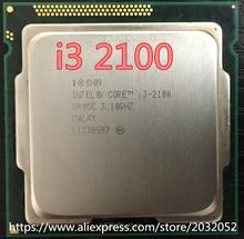 Intel Core i3 2100 Processor 3.1GHz /3MB Cache/Dual Core /Socket 1155 / Qual Core /Desktop (working 100% Free Shipping)