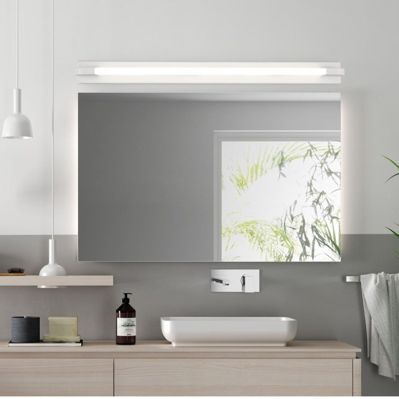Image 5 - New LED Mirror Light 46 66cm 7W/14W AC110 240V Waterproof Modern Cosmetic Acrylic Wall Lamp For Bathroom Light-in LED Indoor Wall Lamps from Lights & Lighting