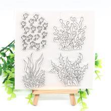 Прозрачные силиконовые штампы ksccraft для скрапбукинга/открыток/детских украшений