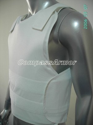 Small Size Black/White color Concealable bulletproof vest