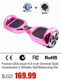 "France USA Stock 6.5"" hoverboard electric scooters self balancing scooter skateboard bluetooth smart balance wheel Carring Bag"