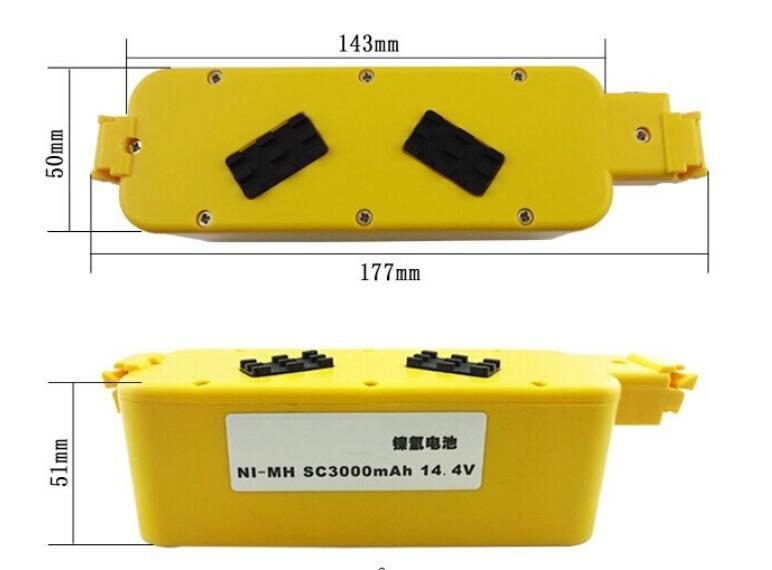Vacuum Cleaner Battery For 5105 5210 Intelligent M 288b M