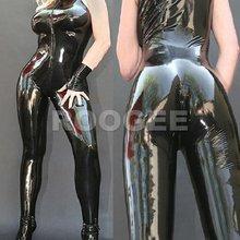 Сексуальный латексный Боди Одежда с средства ухода за кожей стоп и glvoes Мода Горячие продажи