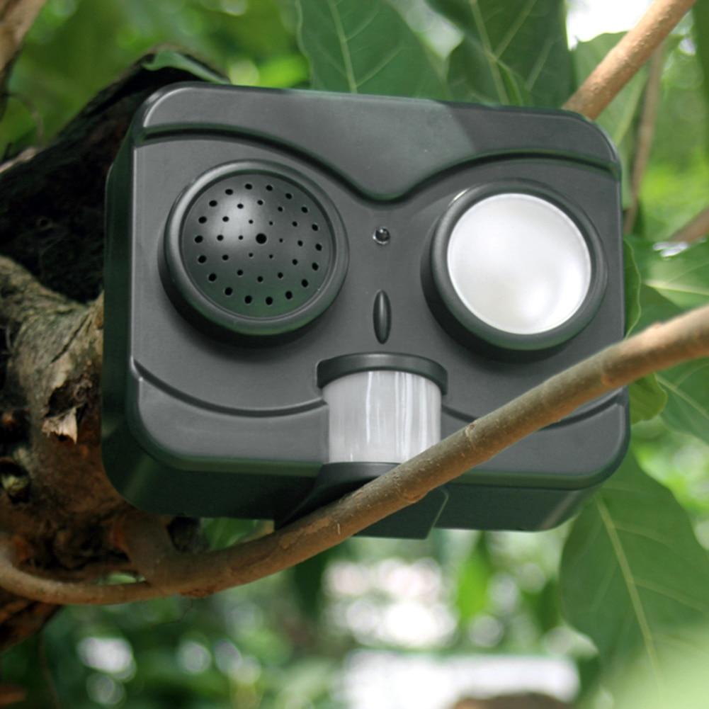 6,5 V Solar Power Akustooptischen Vogel Repeller Abschreckung Taube Vögel Scarer Repellent für Garten Im Freien Schädlingsbekämpfer