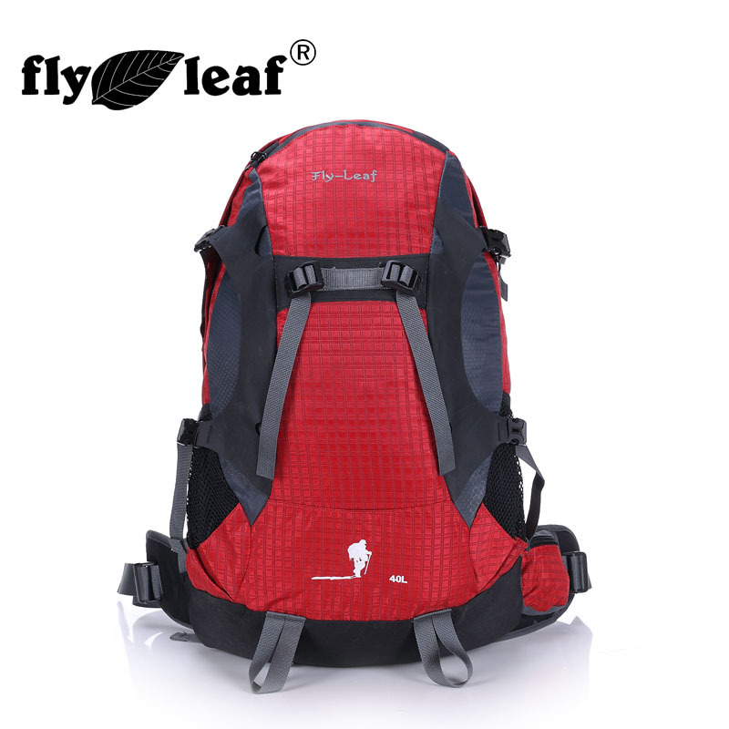 Fly-leaf 40L Waterproof Travel Backpack Camp Hike Mochilas Masculina Laptop Daypack Trekking Climb Back Bags For Men Women 2017 цена и фото