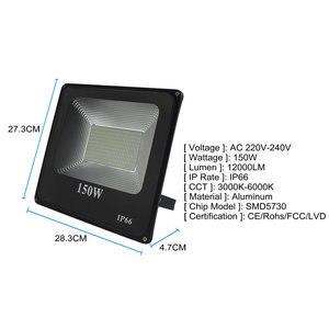 Image 5 - BUYBAY LED projektör 220V 240V 30W 50W 100W 200W dış aydınlatma projektör reflektör Led dış spot led exterieur