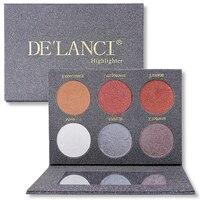 DE'LANCI Humide Crème Surligneur Bronzer Glow Kit Visage Maquillage Fard À Paupières Palette Beauté Cosmétiques Make up Palette
