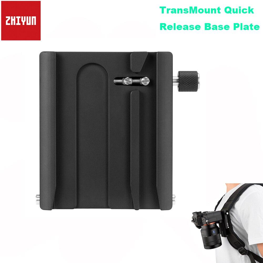 Zhiyun TransMount Suporte Da Placa De Base de Liberação Rápida Acessórios para Zhiyun Weebil Laboratório Guindaste Guindaste 3 2 Handheld Cardan Estabilizador
