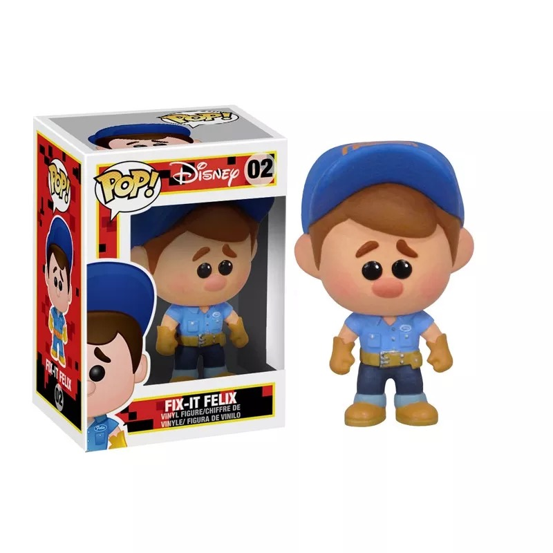 Funko pop Official Wreck It Ralph Felix Vinyl Action Figure Collectible Model Toy with Original Box  funko pop official marvel doctor who dalek vinyl action figure collectible model toy with original box