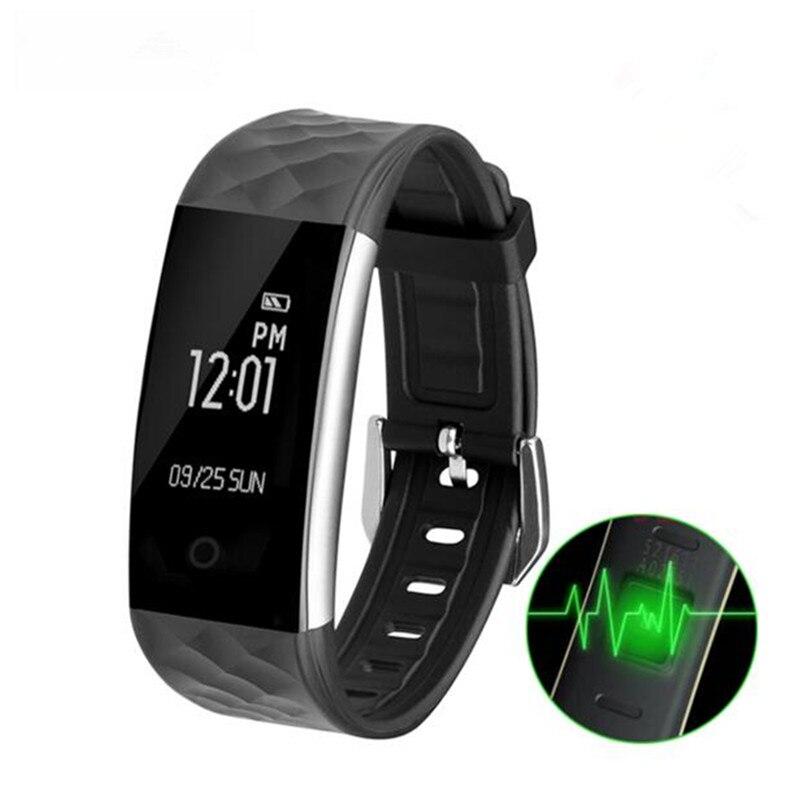 S2 Bluetooth Bracelet cicret bracelet Fitness Wristband Heart Rate Bracelet Fitn