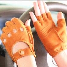 Suede EL099 Driving Gloves