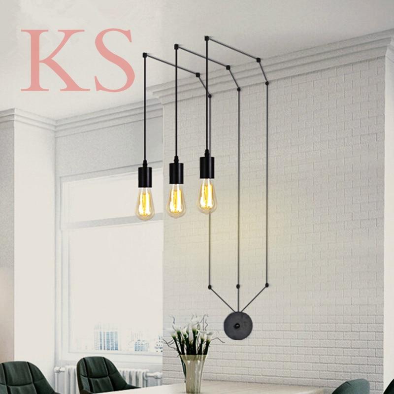 Modern pendant lamp acrylic G4 LED traditional lighting Restaurant sitting room bar store chandeliers decoration light fixture