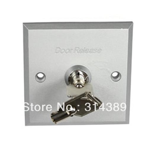 Aluminium alloy entrance guard button,emergency key switch, emergency button,entrance guard key switch, 803E