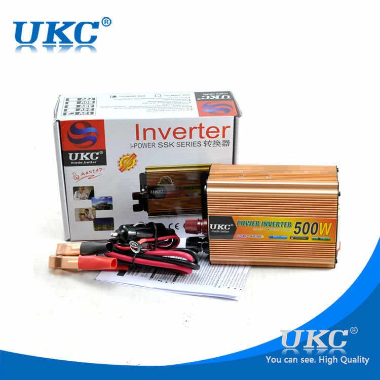 Инвертор 12 220 500 Вт, универсальный автомобильный инвертор, модифицированный синусоидальный инвертор, бесплатная доставка