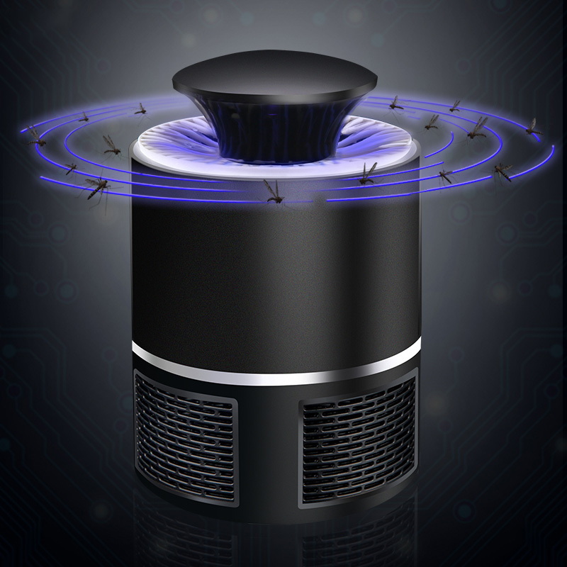 DC5V USB Power Mosquito Killer 5W Electric Home Bug Zapper UV LED Night Light Insect Trap Lamp Anti-mosquito Pest Repeller