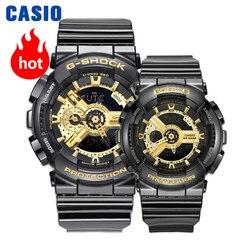CASIO Часы Пару часов обувь для мужчин и женщин модные спортивные часы водонепроницаемые электронном виде GA-110GB-1A BA-110-1A