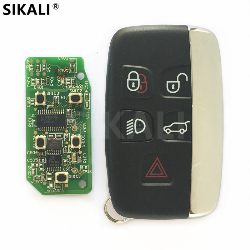 Voiture À Distance Smart Key pour Land Rover LR4/Sport/Evoque/Freelander 315 MHz ou 433 MHz 2010 2011 2012 2013 2014 2015 sans Logo