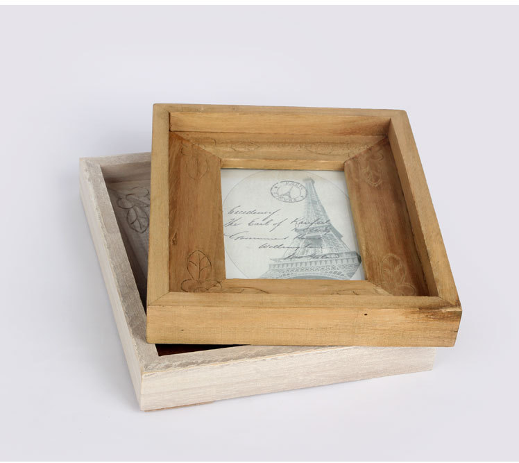 1PC 6 inch thick European classical solid wood frames creative ...