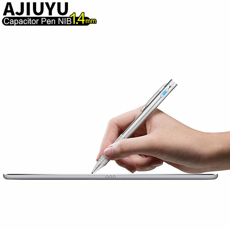 High-precision Active Pen Capacitive Touch Screen Pen For iPad 9.7 inch new 2017 iPad Air 2 1 Air1 Air2 Tablet Capacitor 1.4mmHigh-precision Active Pen Capacitive Touch Screen Pen For iPad 9.7 inch new 2017 iPad Air 2 1 Air1 Air2 Tablet Capacitor 1.4mm