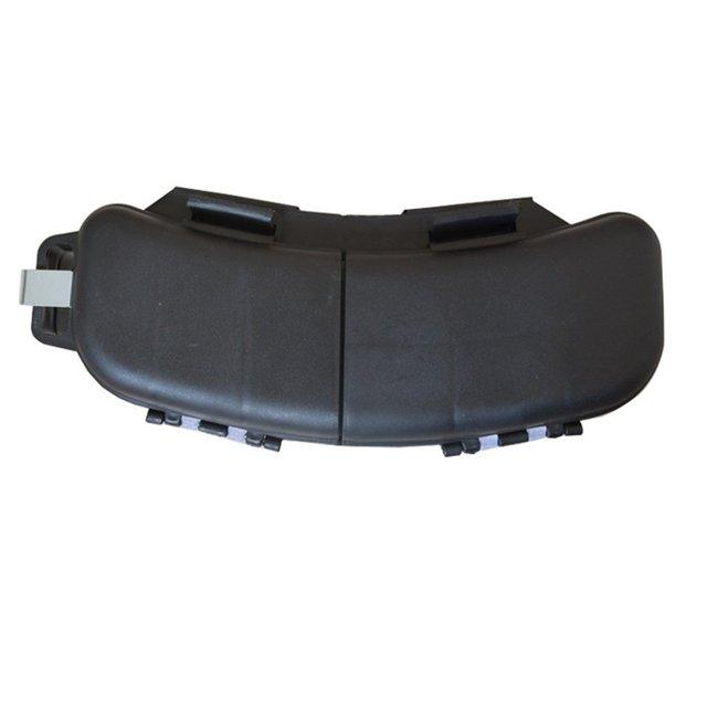 Black Baits Spoons Hooks Reels Storage Bag Tackle Box Waist Belt Case GS