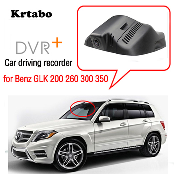 Car Wifi Mini DVR Driving Video Recorder Dash Cam for Mercedes Benz GLK 200 260 300 350 2015 2016 2017 Novatek 96658 HD CCD image
