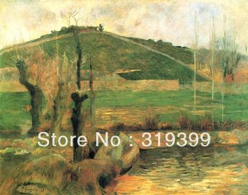 Oil Painting Reproduction on Linen canvas,Sainte-Marguerite by paul Gauguin, 100% handmade,Free DHL Shipping