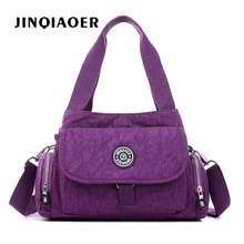 Women Messenger Bag Nylon Kipled Shoulder Ladies Bolsa Feminina Waterproof Travel Womens Crossbody