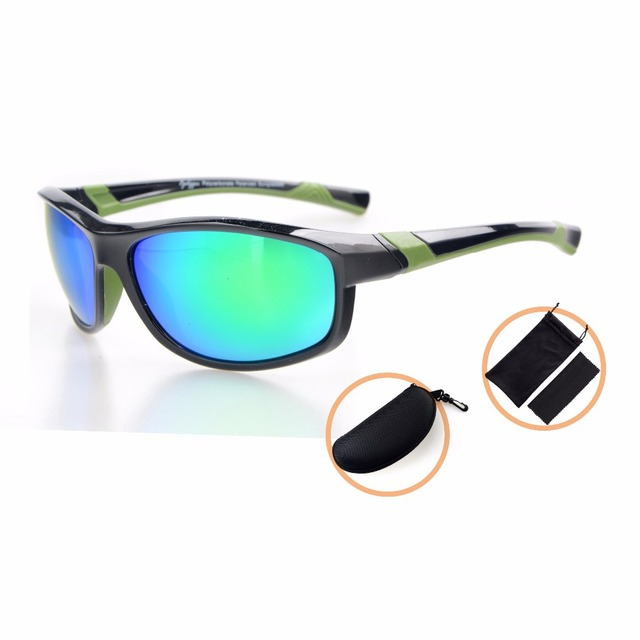 TH6170 Eyekepper Polycarbonate Polarized Sport Sunglasses For Teenagers TR90 Unbreakable