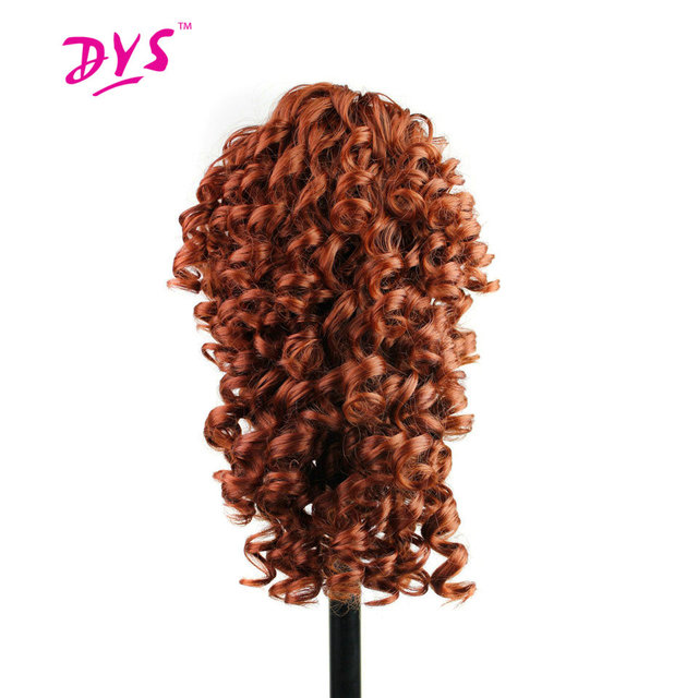 Deyngs Short Kinky Curly Claw In Ponytail Hair Extension Synthetic