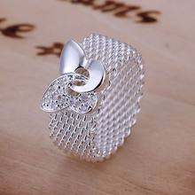 R071 free shipping 925 sterling silver ring, 925 silver trendy jewelry, Butterfly Web Ring /gekaovra bdyajvfa(China)