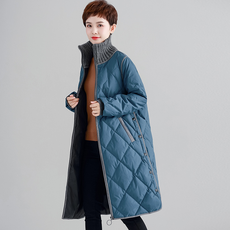 2019 new arrival winter and autumn women   down     coat   jackets Large size long high quality