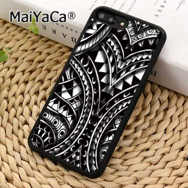 MaiYaCa Maori polynesian samoan tribal чехол для телефона iPhone 5 6s 7 8 plus 11 pro X XR XS max samsung S6 S7 edge S8 S9