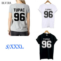DLVIRA TUPAC 96 Pre Printed Europe And The United States Trend Of The Streets Of English