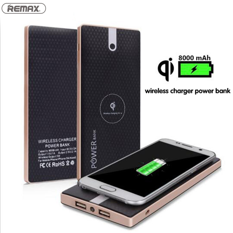 8000mAh Qi Wireless Chargeing Power Bank Case 2 in 1 Fast Charger Powerbank for Samsung Galaxy S6 s6 edge S7 S7Edge S8 Note 5 8