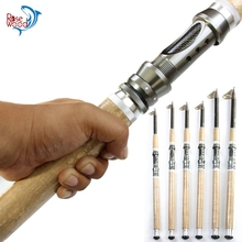 2.1M 2.4M 2.7M 3.0M 3.6M 4.5M FISHING STICK Carbon Fiber Fishing Rod Telescopic Pole Super Hard Sea Spinning Rod Tackle