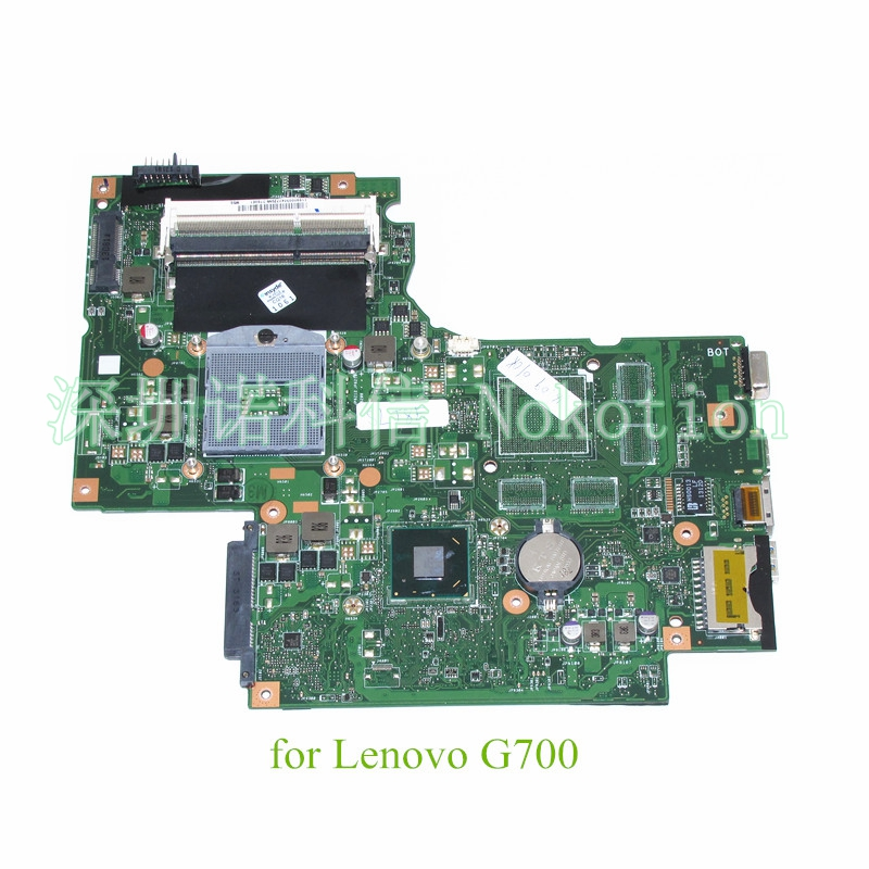 NOKOTION 11S90003042 BAMBI MAIN BOARD REV 2.1 For lenovo thinkpad G700 laptop motherboard 17.3 inch screen HM76 DDR3 SLJ8E WORKS