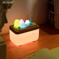 4.5w humhumidifier led Night Light for Bedside with USB Portable remote control Night lighting Lamp For Gift living Lamp